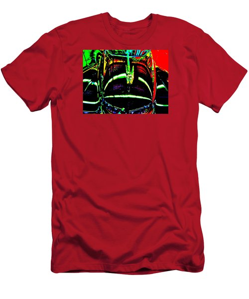 Bahre Car Show II 41 Men's T-Shirt (Slim Fit) by George Ramos