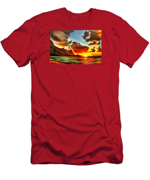 Bali Hai Men's T-Shirt (Athletic Fit)