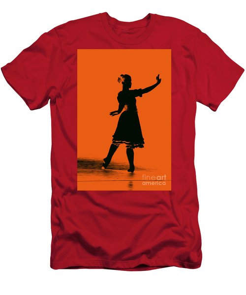 Men's T-Shirt (Athletic Fit) featuring the photograph Ballet Girl by Donna Bentley