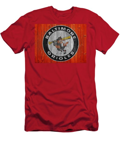 Baltimore Orioles Graphic Barn Door Men's T-Shirt (Slim Fit) by Dan Sproul