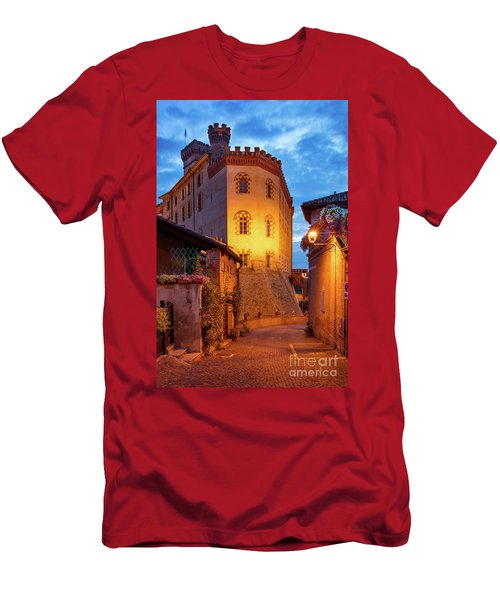 Men's T-Shirt (Slim Fit) featuring the photograph Barolo Morning by Brian Jannsen
