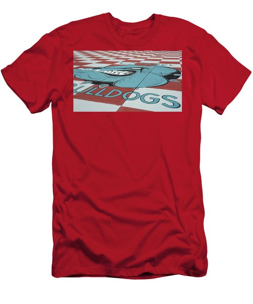 Barracks Bulldog Men's T-Shirt (Athletic Fit)