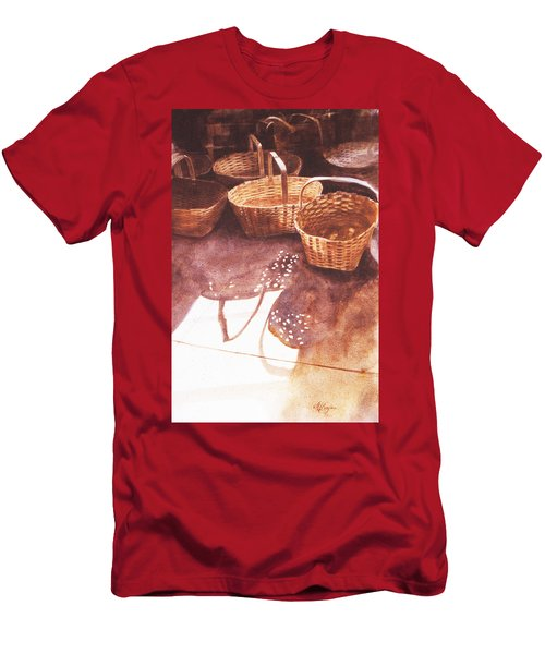 Baskets In The Sun Men's T-Shirt (Athletic Fit)