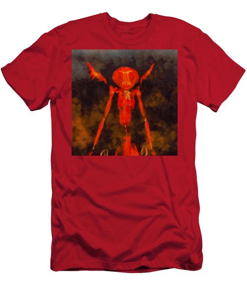 Beast Of Hell Men's T-Shirt (Athletic Fit)