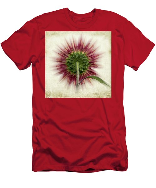 Behind The Sunflower Men's T-Shirt (Athletic Fit)