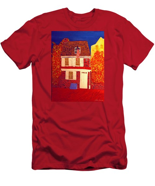 Betsy Ross's House Men's T-Shirt (Athletic Fit)