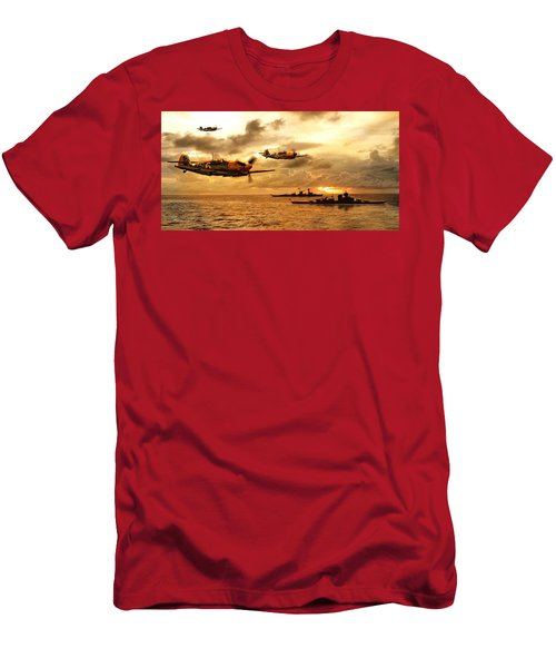 Bf 109 German Ww2 Men's T-Shirt (Athletic Fit)
