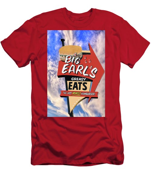 Men's T-Shirt (Athletic Fit) featuring the photograph Big Earls by Paul Wear