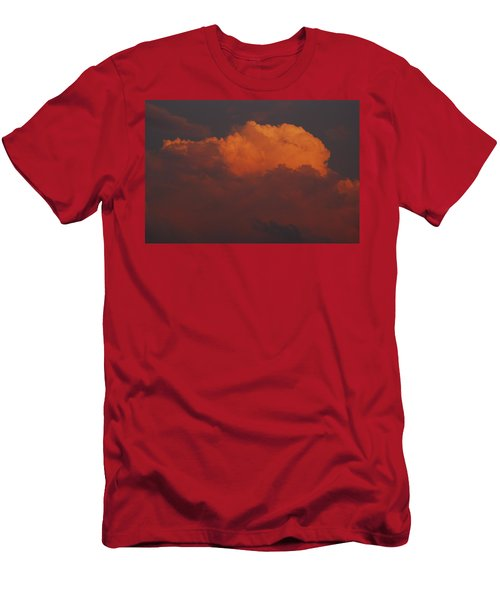 Billowing Clouds Sunset Men's T-Shirt (Athletic Fit)