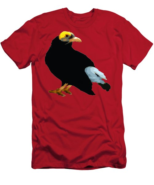 Bird Art Men's T-Shirt (Athletic Fit)
