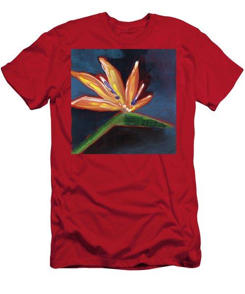 Bird Of Paradise- Art By Linda Woods Men's T-Shirt (Athletic Fit)