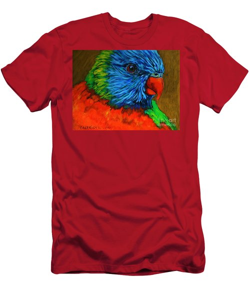Birdie Birdie Men's T-Shirt (Slim Fit) by Alison Caltrider