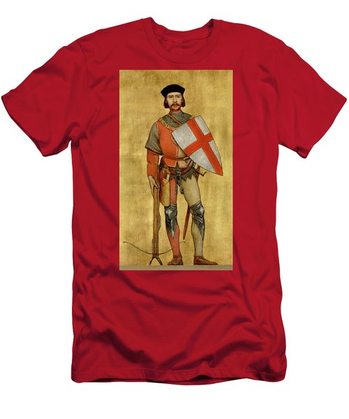 Blanket Of The Armed Saint George Guild Men's T-Shirt (Athletic Fit)