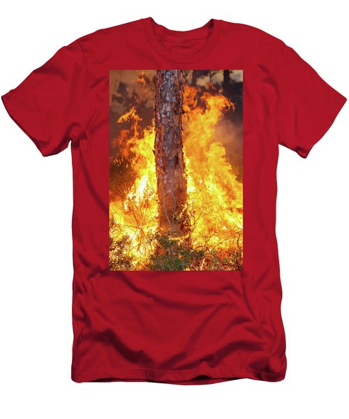 Blazing Pine Men's T-Shirt (Athletic Fit)
