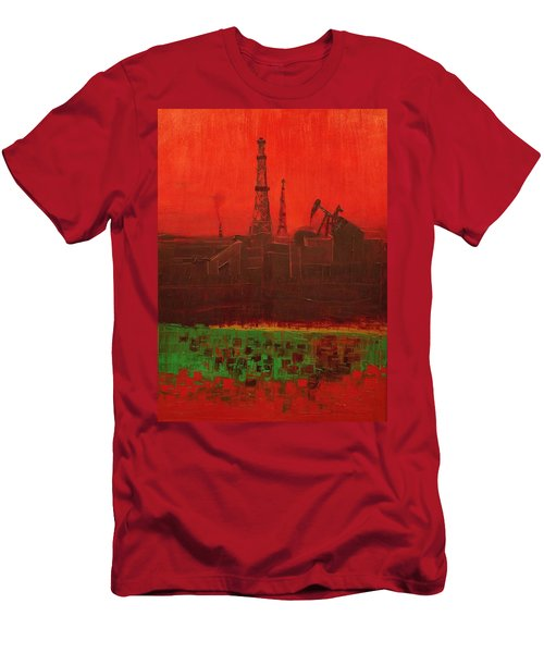 Blood Of Mother Earth Men's T-Shirt (Athletic Fit)