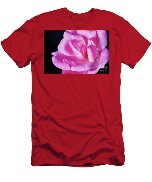 Blooming Rose Men's T-Shirt (Athletic Fit)