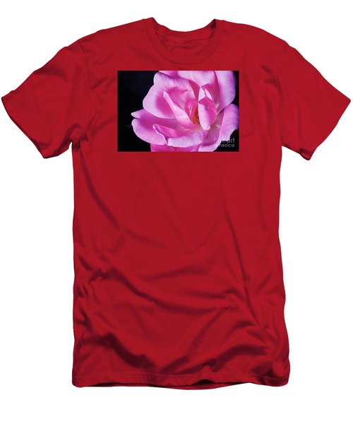 Blooming Rose Men's T-Shirt (Athletic Fit)