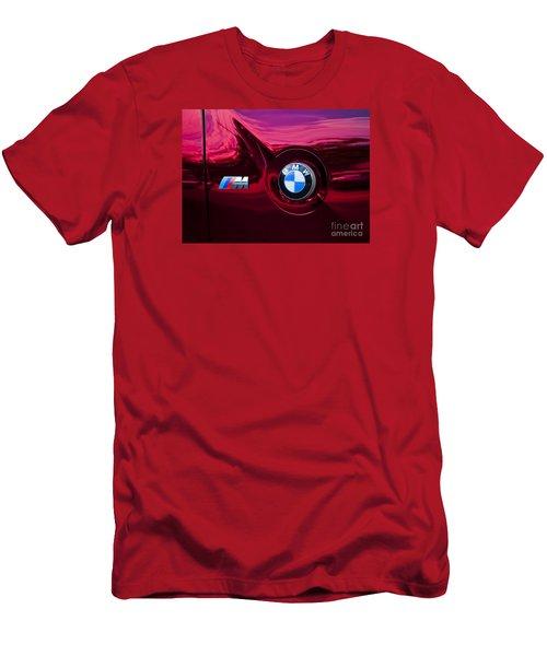 Bmw M3 Badges Men's T-Shirt (Athletic Fit)