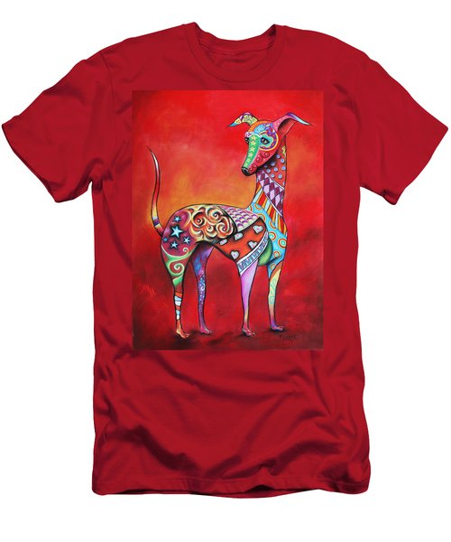 Italian Greyhound  Men's T-Shirt (Athletic Fit)