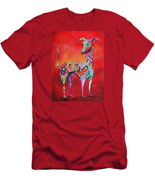 Italian Greyhound  Men's T-Shirt (Athletic Fit)