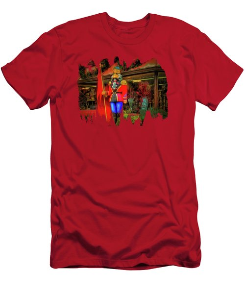 Men's T-Shirt (Slim Fit) featuring the photograph Bonjour Hello Good Day by Thom Zehrfeld