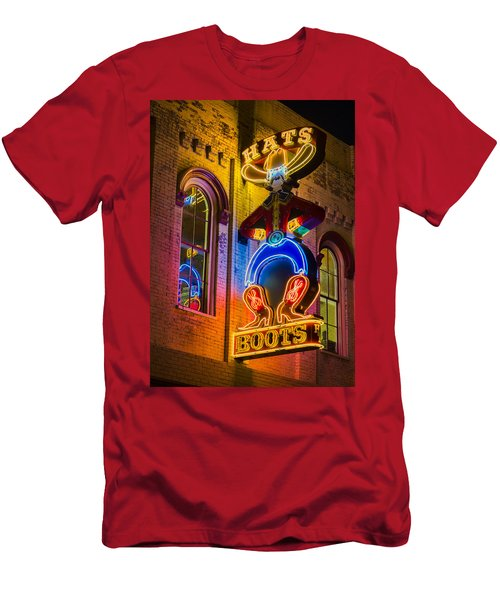 Boots And Hats Men's T-Shirt (Athletic Fit)