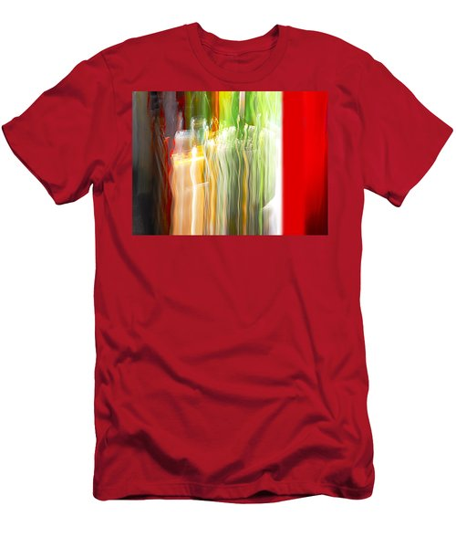 Men's T-Shirt (Slim Fit) featuring the photograph Bottle By The Window by Susan Capuano