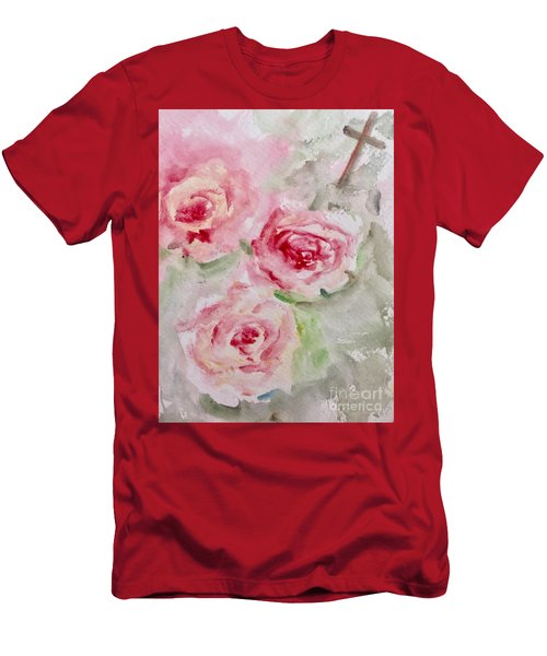 Bought With A Price Men's T-Shirt (Slim Fit) by Trilby Cole