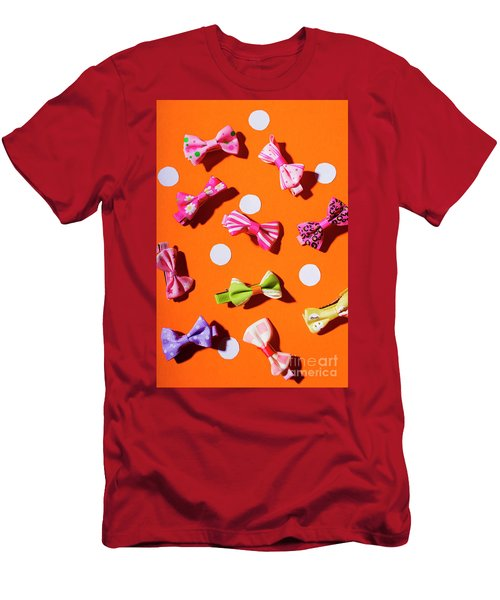 Bow Tie Party Men's T-Shirt (Athletic Fit)