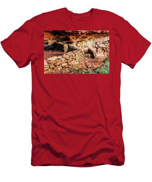 Boynton Canyon 08-012 Men's T-Shirt (Slim Fit) by Scott McAllister