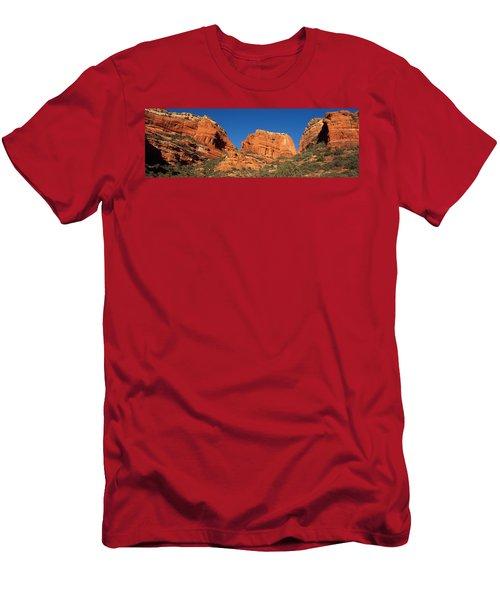 Boynton Canyon Red Rock Secret Men's T-Shirt (Athletic Fit)