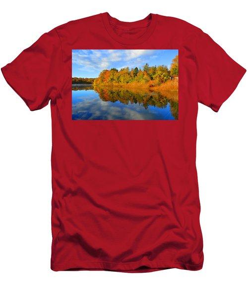 Brilliance Of Autumn Men's T-Shirt (Athletic Fit)