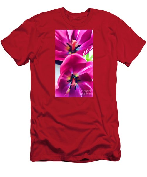Men's T-Shirt (Slim Fit) featuring the photograph Brilliance by Roberta Byram
