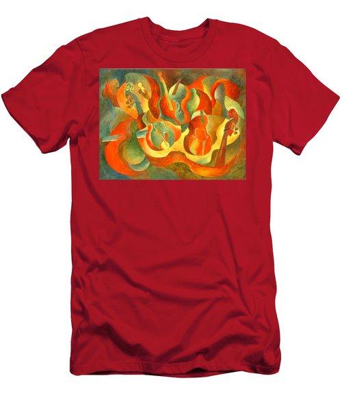 Broken Fiddle Men's T-Shirt (Athletic Fit)