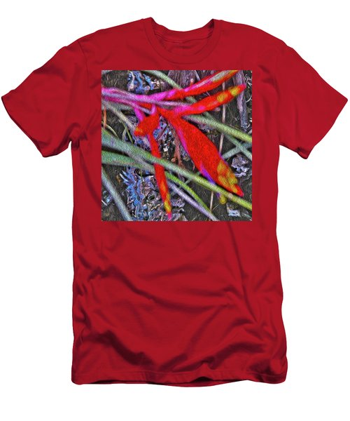 Bromeliad In The Cathedral Men's T-Shirt (Athletic Fit)