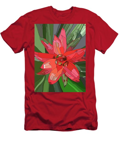 Bromiliad Men's T-Shirt (Slim Fit) by Jamie Downs