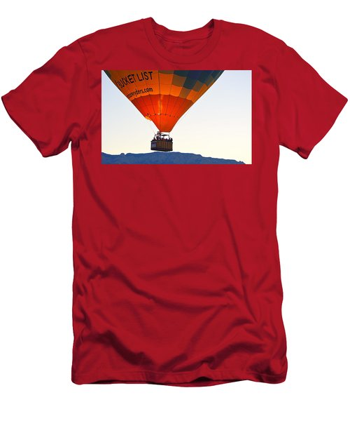 Men's T-Shirt (Athletic Fit) featuring the photograph Bucket List by AJ Schibig