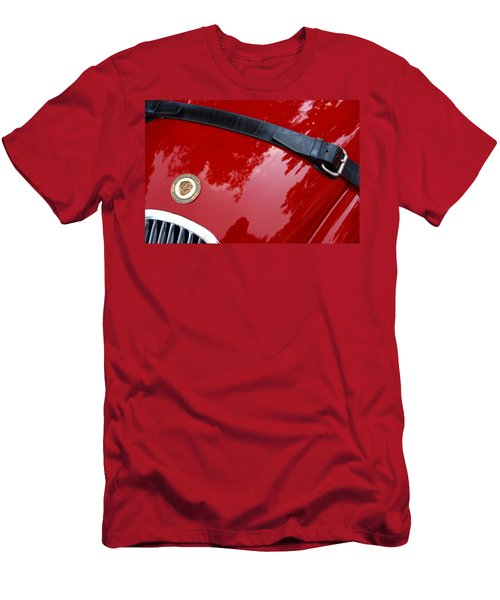 Men's T-Shirt (Athletic Fit) featuring the photograph Buckle Up by John Schneider