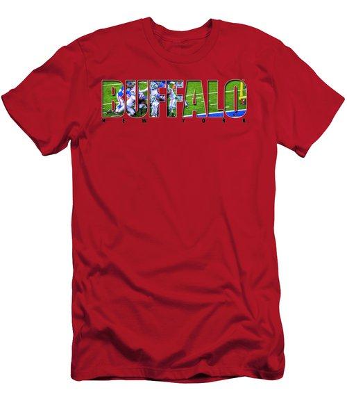 Buffalo Ny Buffalo Bills Men's T-Shirt (Athletic Fit)