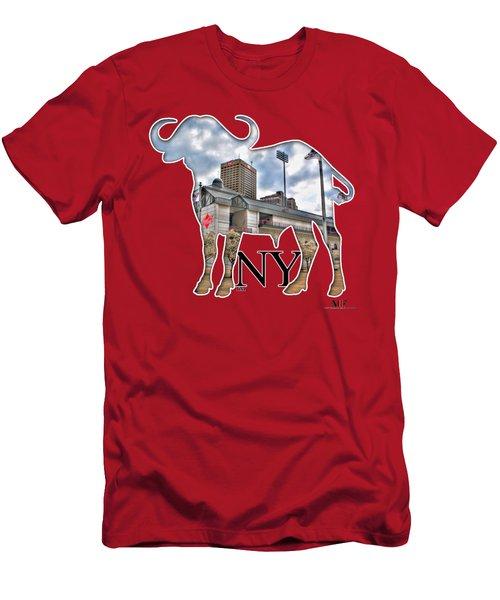 Buffalo Ny Coca Cola Field  Men's T-Shirt (Athletic Fit)