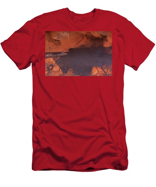 Men's T-Shirt (Slim Fit) featuring the photograph Bullfight by Laurie Stewart