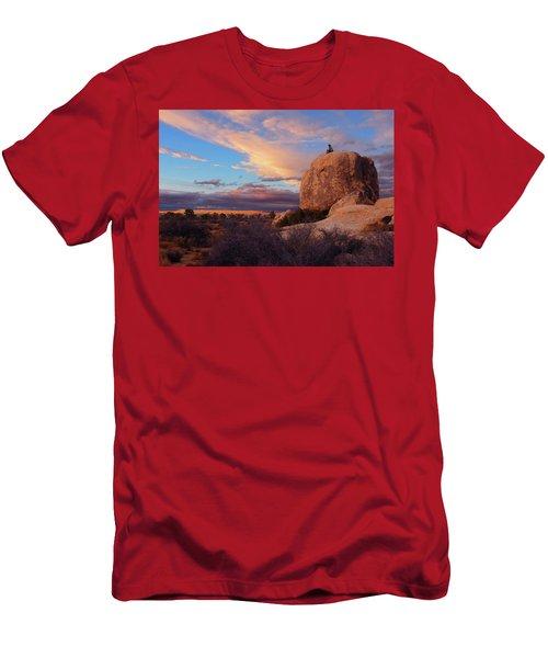 Burning Daylight Men's T-Shirt (Athletic Fit)