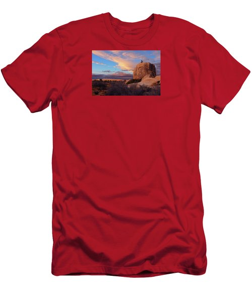 Burning Daylight Men's T-Shirt (Athletic Fit)
