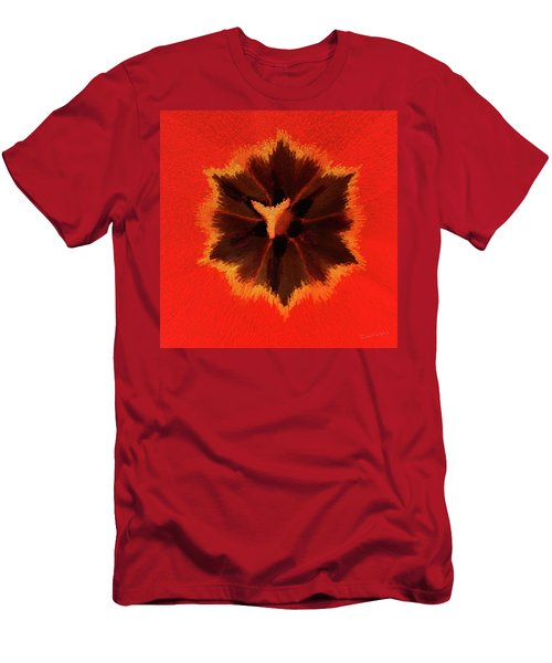 Men's T-Shirt (Slim Fit) featuring the photograph Bursting by Terri Harper