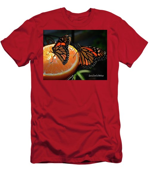 Butterfly Attraction Men's T-Shirt (Slim Fit)