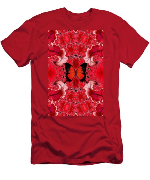 Butterfly Dream Phone Case Men's T-Shirt (Slim Fit) by Lea Wiggins