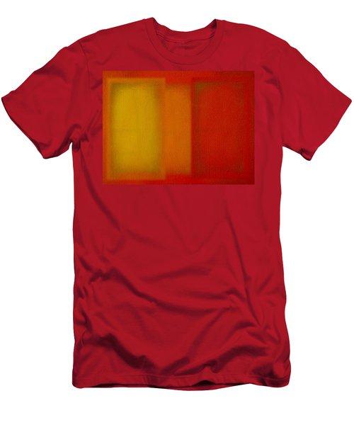 Cadmium Lemon Men's T-Shirt (Athletic Fit)