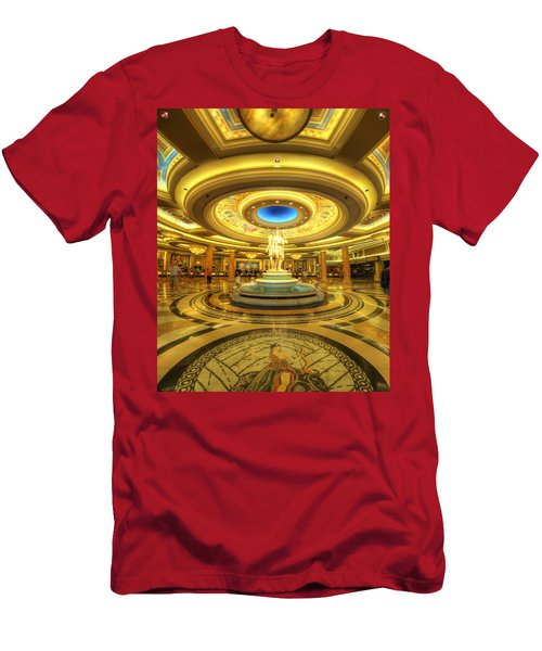Caesar's Grand Lobby Men's T-Shirt (Athletic Fit)