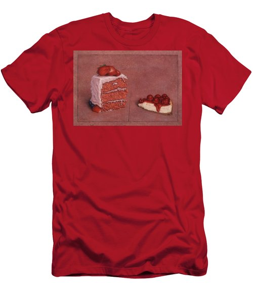 Cakefrontation Men's T-Shirt (Athletic Fit)
