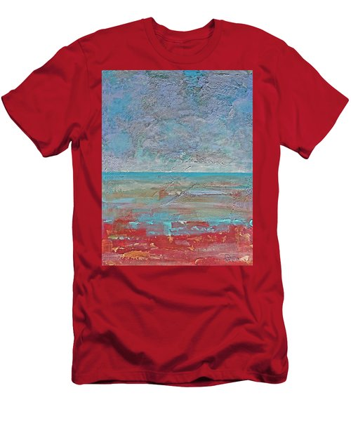 Calm Before The Storm Men's T-Shirt (Slim Fit) by Walter Fahmy